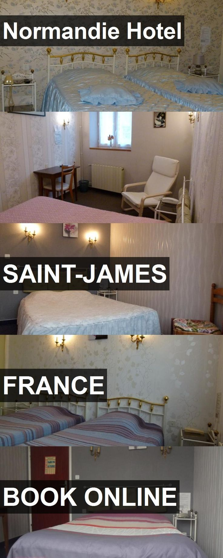 Hotel Normandie Hotel in Saint-James, France. For more information, photos, reviews and best prices please follow the link. #France #Saint-James #NormandieHotel #hotel #travel #vacation