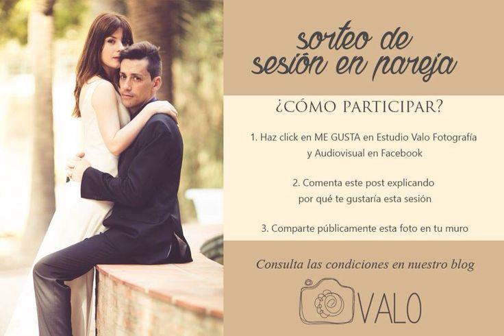 Participa en el sorteo de una sesión gratuita con tu pareja. Recuerda realizar todos los pasos! Puedes leer todas las bases en nuestro blog. Suerte!!!
