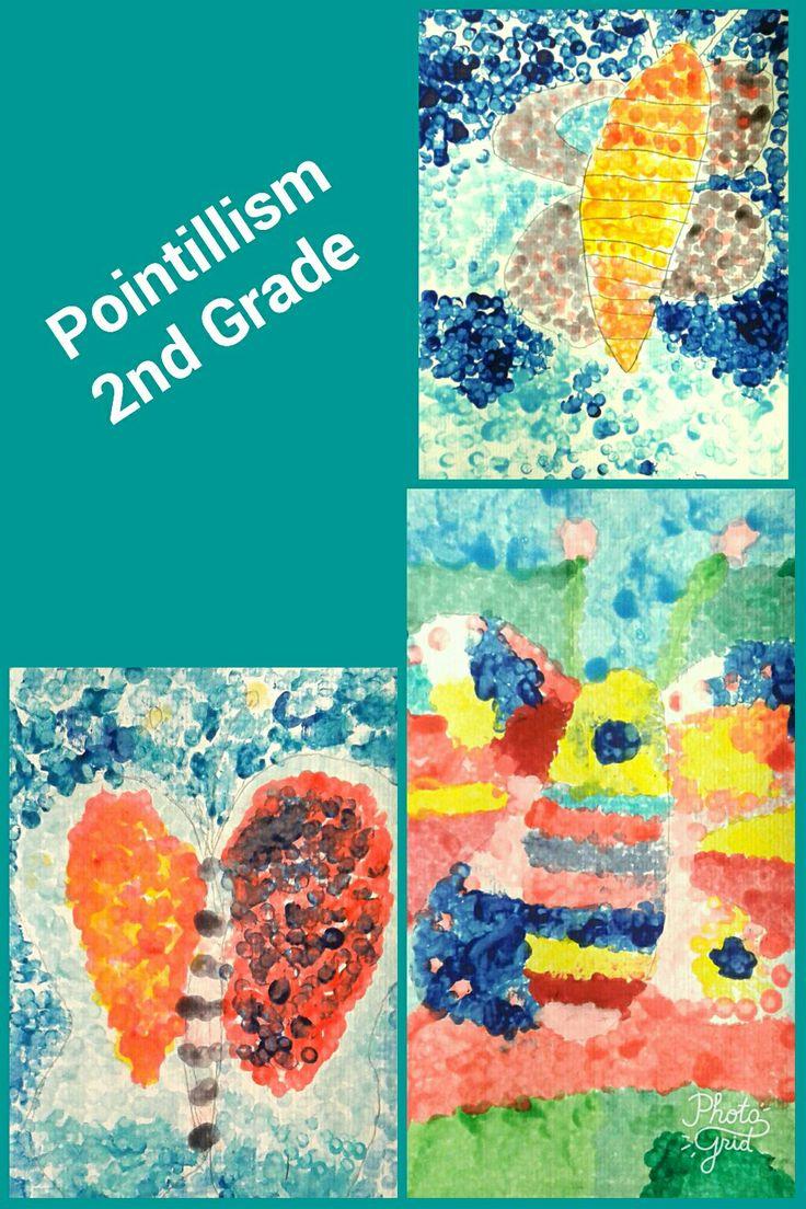 Elementary Art Pointillism
