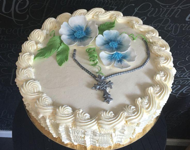 Flower, cake