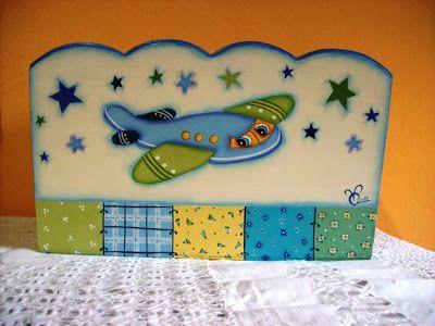 """""""Vero"""" Pintura Decorativa sobre Madera y Porcelana"""