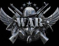 War - The board game logo