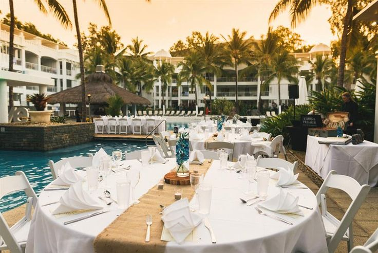 Peppers Beach Club & Spa - outdoor wedding setting