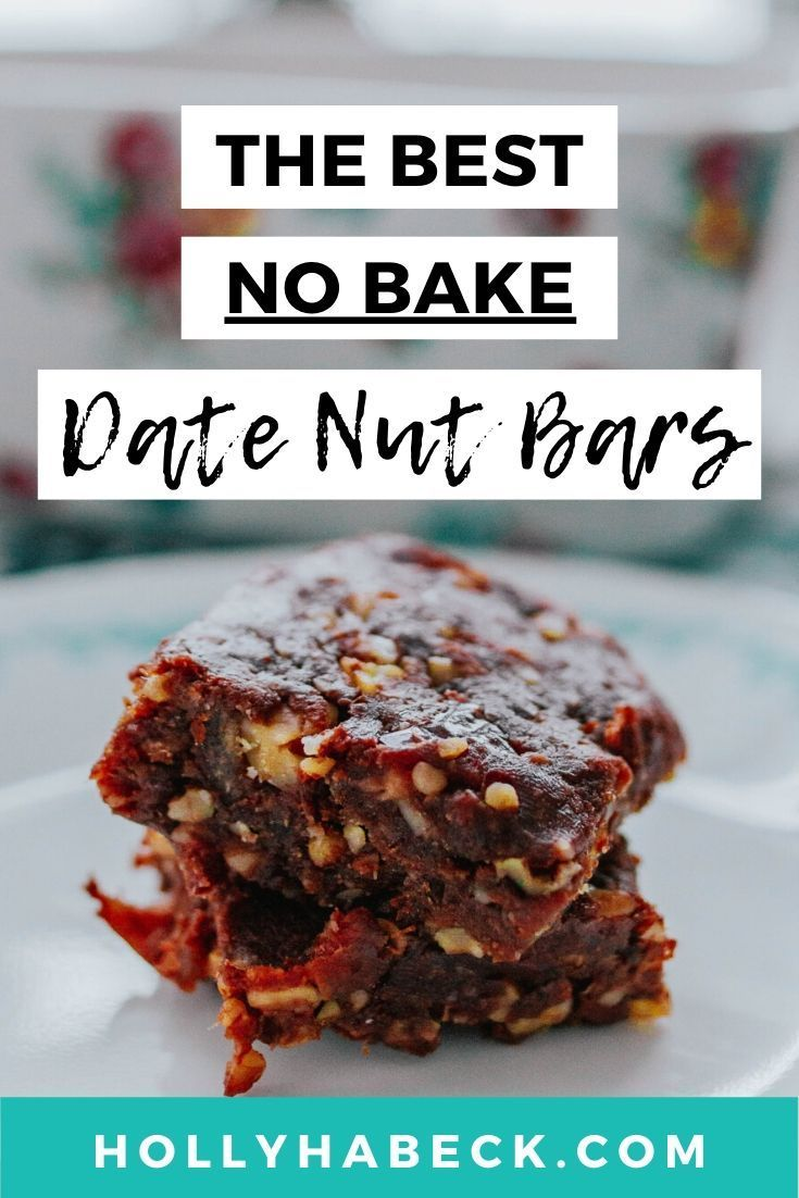 Healthy Desserts Easy No Bake Date Nut Bars In 2020 Healthy Desserts Easy Easy Baking Recipes Date Nut Bars