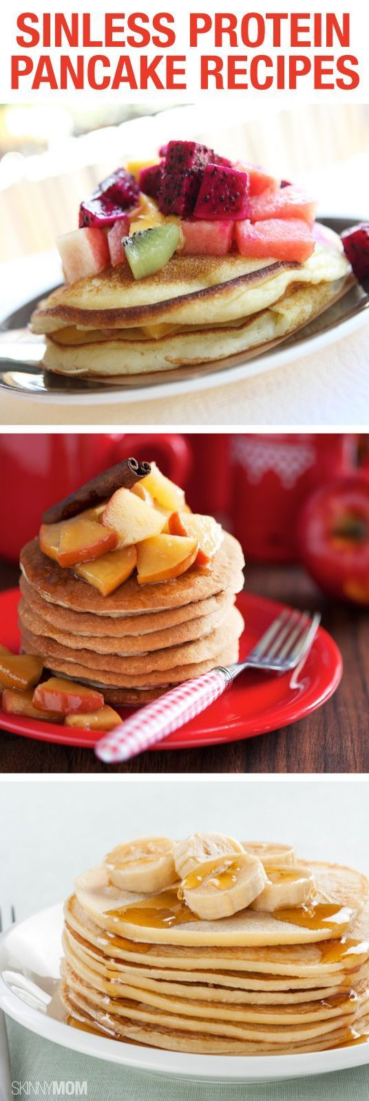 Great pancake recipes for tomorrow's breakfast.