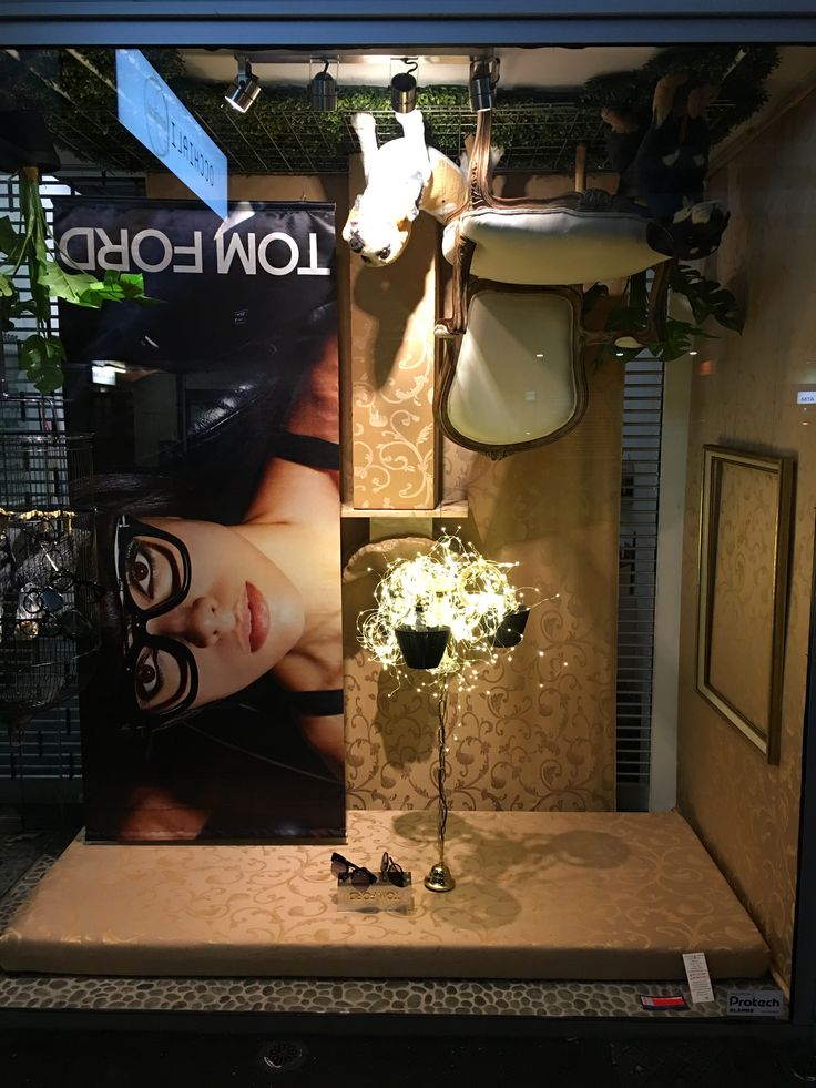 """OCCHIALI OPTICAL, Ponsonby, Auckland, New Zealand, """"No, I didn't work it out upside down... I never turned it around"""", for Tom Ford Eyewear, pinned by Ton van der Veer"""