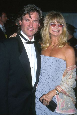 Kurt Russell and Goldie Hawn, together since 1983. | 27 Celebrity Couples Who Prove Love Can Last A Lifetime