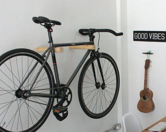 Bike Rack Bike Hanger Bike Wall Mount Wood Bike Rack Bike