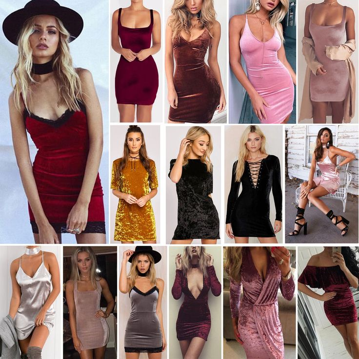 Sexy Women Velvet Strappy Bodycon Dress Sleeveless Evening Party Mini Dress Lot
