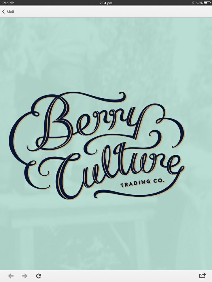 Our BerryCulture logo