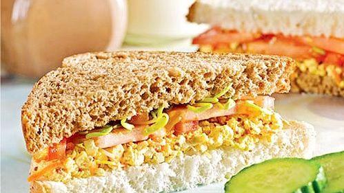 Sandwich aux oeufs sans oeufs