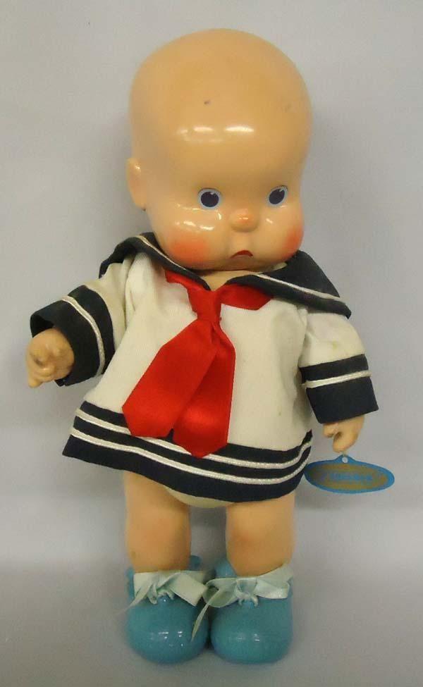 #1 of 5 1925 Horsman Charles H Twelvetrees Doll. Trademark ''HEbee-SHebee''. Measures approx. 11''. http://www.icollector.com/1925-Horsman-Charles-H-Twelvetrees-Doll_i9908702