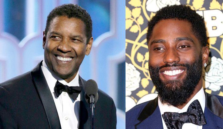 Denzel Washington's Son, John David, Steals The Limelight At Golden Globes