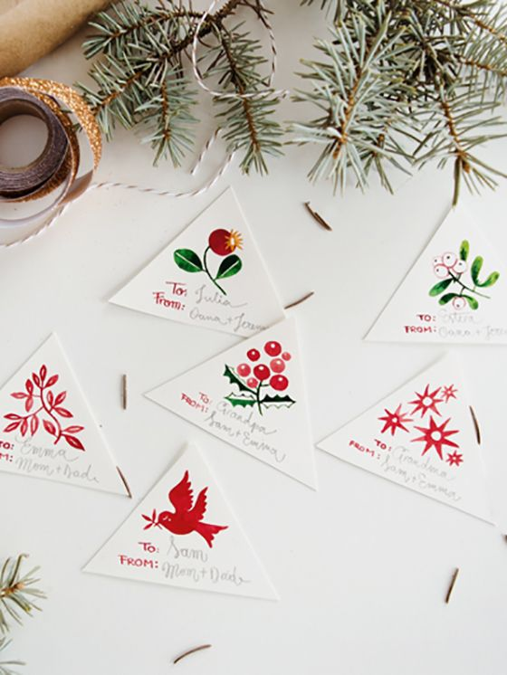 Printable Gift Tags from Oana Befort