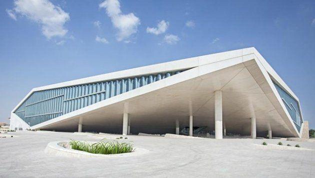 نتيجة بحث الصور عن مكتبة قطر الوطنية Outdoor Decor Outdoor Decor