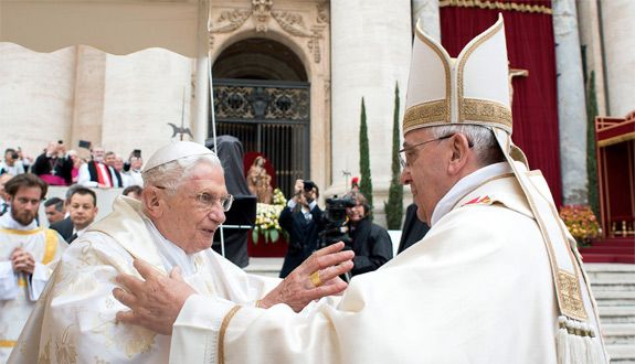"""""""Three Popes, One Harmony in Christ: John Paul, Benedict, and Francis"""" 