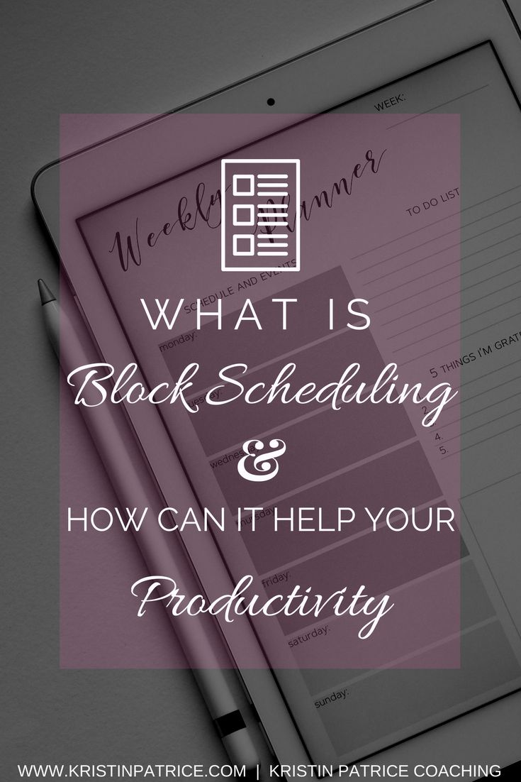Do you want to get more done in your day than you ever imagined? I did too and didn't think it would happen. When I discovered block scheduling that all changed! See how you can use block scheduling to maximize your productivity.