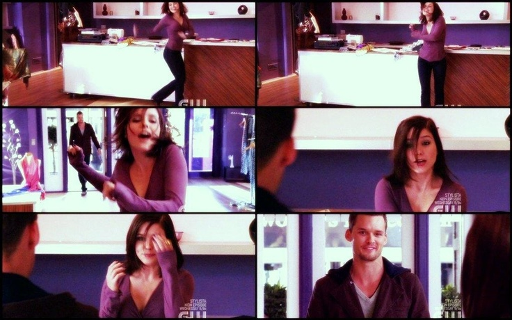 #Brooke doing the Molly Ringwald dance and #Julian walking in on her.. love that scene !!