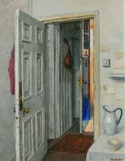 Charles Hardaker, Blue Door and Sunlight.