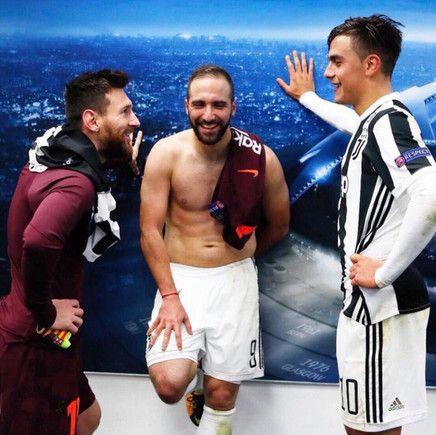 アルゼンチン三銃士が試合後に談笑、国民含むファンの間で話題に