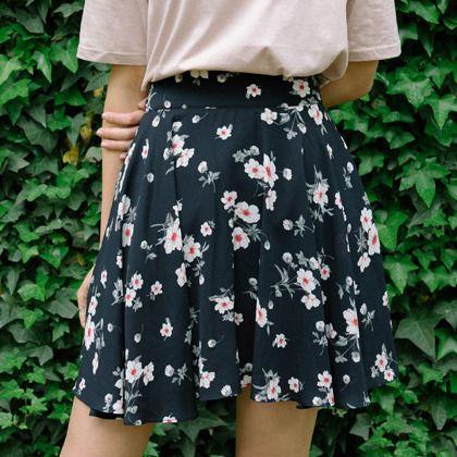 ピュアフラワースカート 韓国発ストリート系ファッションセレクトショップ♪ 韓国の人気芸能人も愛用!