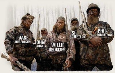 LOVE THE DUCK COMMANDER and the whole Duck Dynasty : )