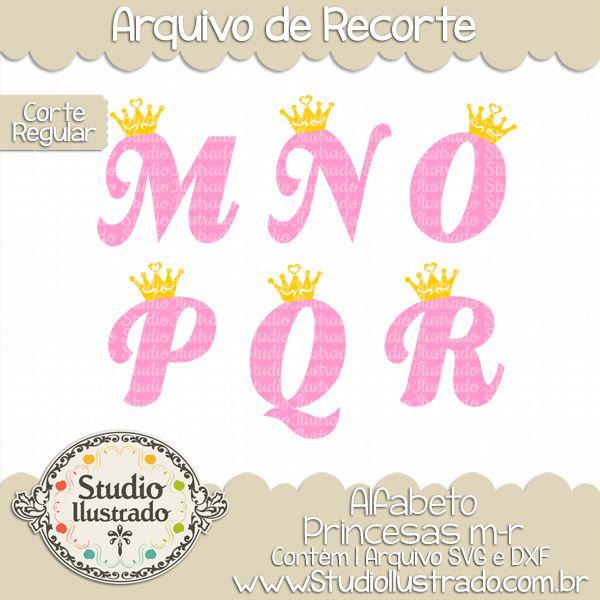 princess alphabet m