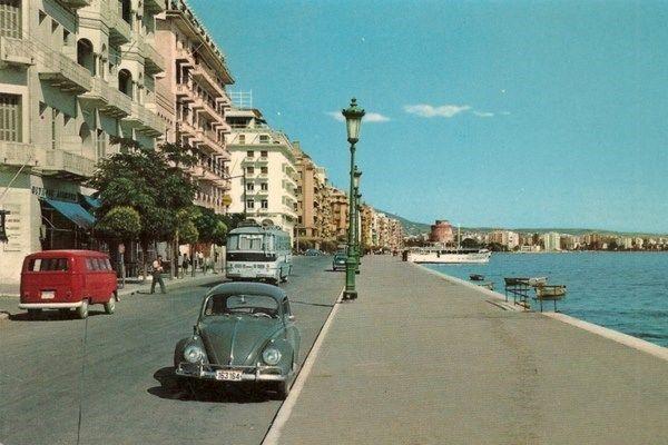 Όταν στην παραλία της Θεσσαλονίκης αγκυροβολούσαν πλοία και το Ποσειδώνιο ήταν λούνα παρκ (παλιές φωτογραφίες)