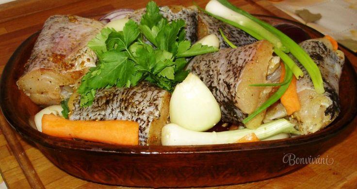 Šťuka na zelenine v rímskom hrnci • recept • bonvivani.sk