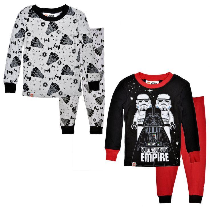 Boys Lego Star Wars 4-Piece Pajama Sets