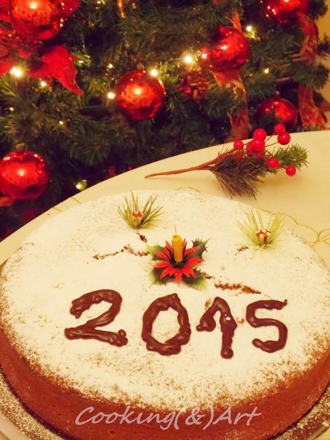 Βασιλόπιτα κέικ με πορτοκάλι / New Year cake with orange  - Giveaway !