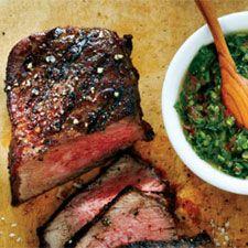 Recette Bifteck de surlonge, sauce piquante à la coriandre - Coup de Pouce