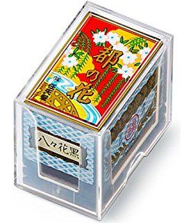 Nintendo Japanese Playing Cards Game Set Hanafuda Miyako no Hana Black