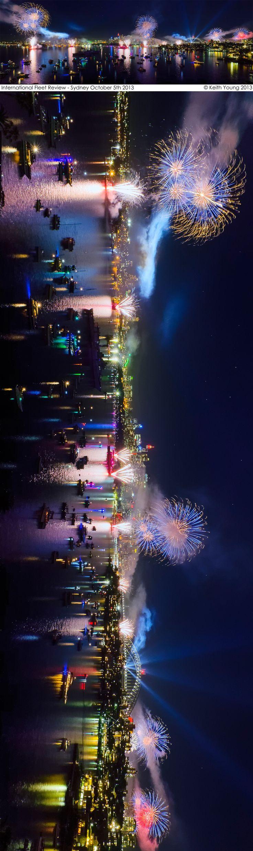 Fireworks at International Fleet Review 2013 in Sydney, Australia #photography #australia