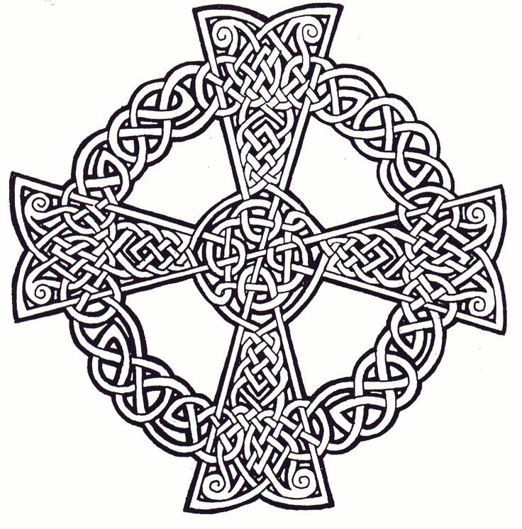 celtic cross coloring sheets diy when i feel creative - Celtic Patterns To Colour