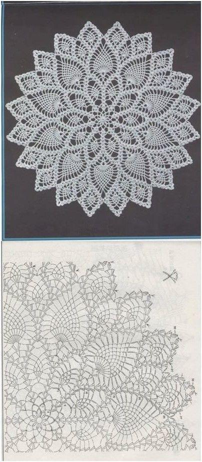 Kira scheme crochet: Scheme crochet no. 1547