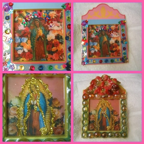 744 best images about the beautiful lady our lady of for Our lady of guadalupe arts and crafts