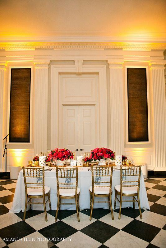 The head table #weddings #blisschicago