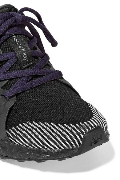 Adidas by Stella McCartney - Ultra Boost Stretch-knit Sneakers - Black - UK
