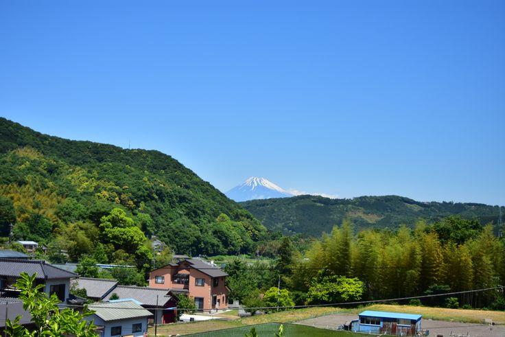 地蔵堂實成寺からの富士山 2017.05