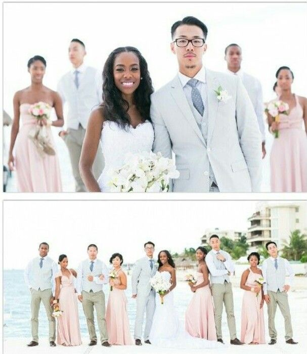 13 Beach Wedding Hair Ideas You Need To See Right Now: This Is A Adorable Wedding... Like I Want This #bwam #ambw