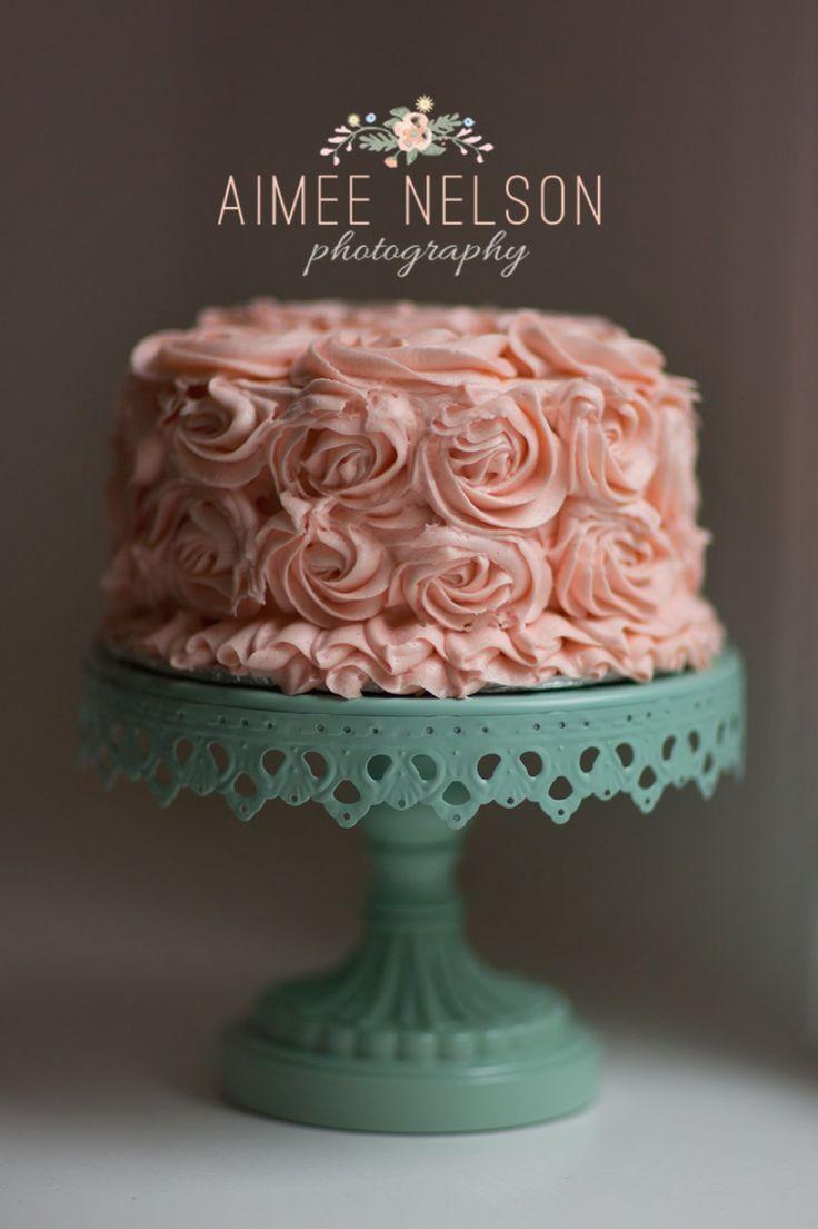 Shabby Chic Vintage Style  Smash Cake