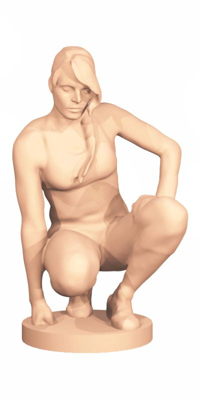3D scan of human. More at www.virtualyou.co.za