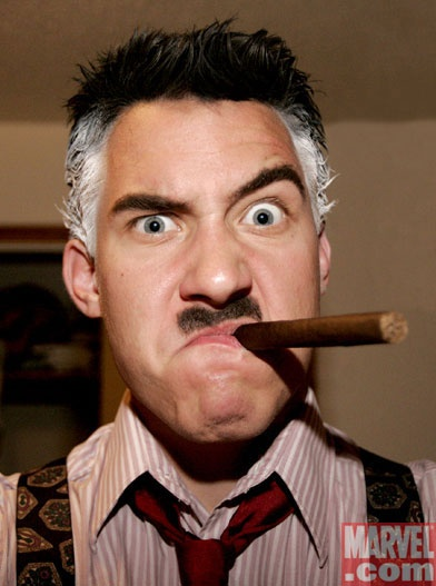 J. Jonah Jameson cosplay......PARKER!!!! I NEED PICTURES! PICTURES... OF SPIDER-MAN!!!!