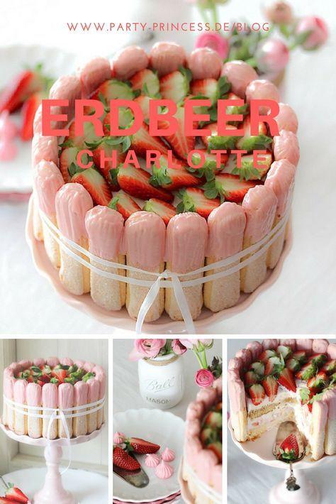 Das Rezept für diese leckeren Erdbeeren Charlotte findet Ihr auf unserem Blog.