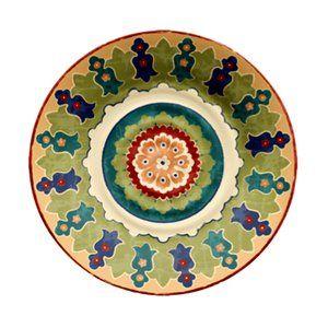 Walmart Better Homes and Gardens Melamine Dinner Plate Damask  sc 1 st  Pinterest & 270 best Melamine/Melmac images on Pinterest | Art impressions ...