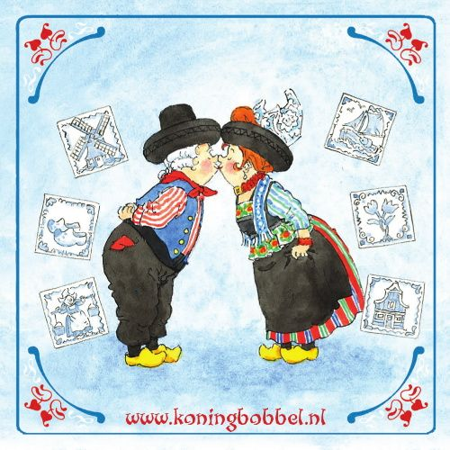 E-cards van koning Bobbel
