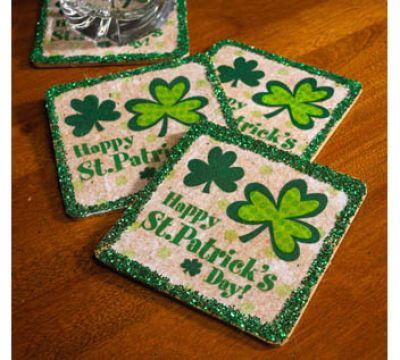 St. #Patricks Day #Coasters