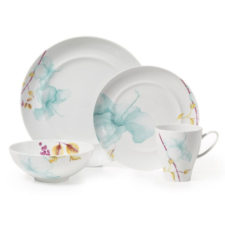 Buy Aliza Teal 48 Piece Dinnerware Set online at Mikasa.com  sc 1 st  Pinterest & 29 best Dinner Sets images on Pinterest | Dining sets Dinner sets ...