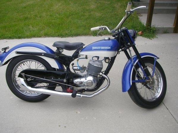 1965 Harley Hummer 175cc Pacer It Might Be Small But Its A